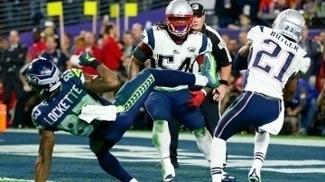Seahawks e Patriots se enfrentaram no Super Bowl há dois anos