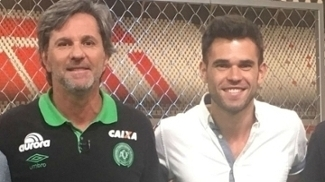 Caio Júnior em sua participação no Resenha ESPN um dia antes da tragédia