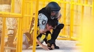 Penarol Torcedor Preso Policia Nacional-URU Campeonato Uruguaio 05/04/2017
