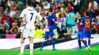 Cristiano Ronaldo Lamenta Real Madrid Barcelona Campeonato Espanhol 23/04/2017