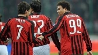 Alexandre Pato, Kaká e Ronaldo no Milan de 2008