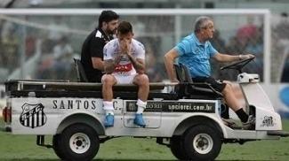 Lucas Lima deixou o campo chorando