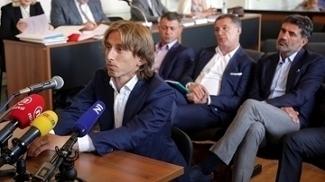 Modric testemunhou em processo contra ex-dirigente do Dínamo de Zagred