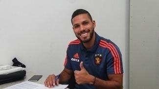 Oswaldo Henríquez, colombiano, chegou ao Sport em 2016, mas nunca conseguiu se firmar no time. Neste ano, tem 9 jogos.