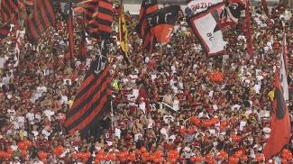Torcida do Flamengo faz festa