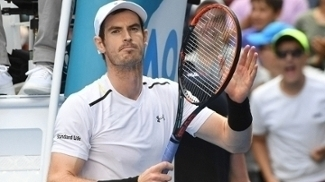 Murray durante o Australian Open