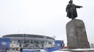 Estádio em São Petersburgo finalmente foi inaugurado