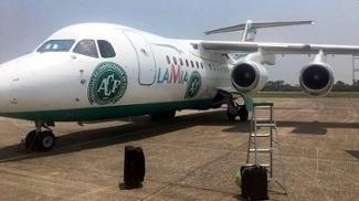 Avião da LaMia que vitimou delegação da Chapecoense
