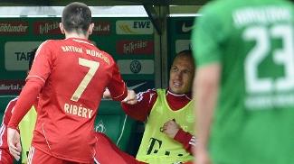 Robben e Ribery se desentenderam na semifinal da Champions League