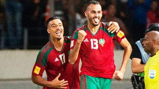 Boutaib Comemora Gol Marrocos Gabão Eliminatórias Copa-2018 07 10 2017 62781b7c352a9