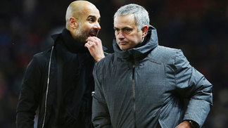 José Mourinho Manchester United Josep Guardiola Manchester City Premier League 10/12/2017