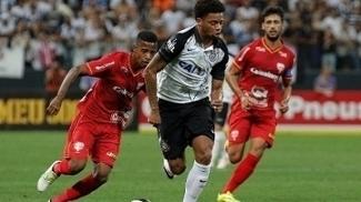 André marcou os dois gols do Corinthians na partida