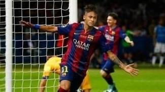 Neymar Gol champions barcelona Juventus