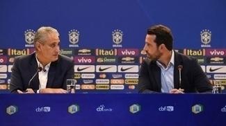 Após trabalharem juntos no Corinthians, Tite e Edu Gaspar reeditam dupla de sucesso na seleção
