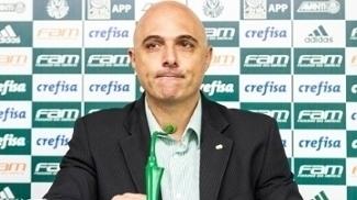 Mauricio Galiotte Coletiva Palmeiras 08/02/2017