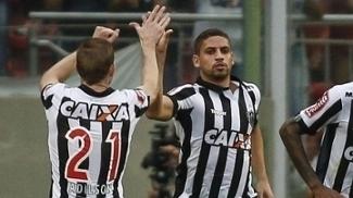 Gabriel foi o autor do único gol do Atlético-MG