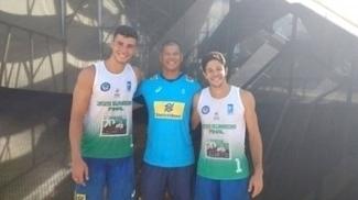 Álvaro e Saymon ficaram com o ouro em Maringá