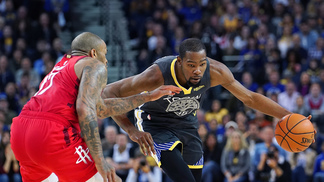 Kevin Durant contra os Rockets