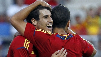 Javi Martínez marcou o único gol da vitória da Espanha contra o México