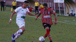 Mogi Mirim e Botafogo-SP empataram por 2 a 2 neste sábado
