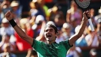 Federer venceu Indian Wells pela quinta vez.