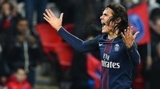 Uruguaio Cavani marcou na vitória do Paris-Saint Germain