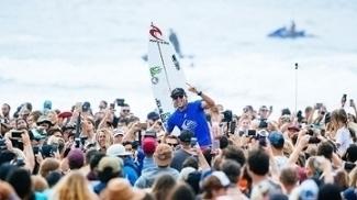 Owen Wright venceu a etapa de Gold Coast