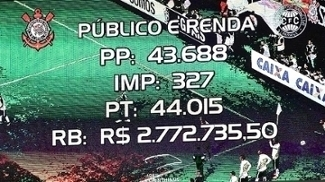 Título fez Corinthians bater recorde de público de sua Arena