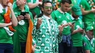 Irlanda Torcida França Euro-2016 26/06/2016