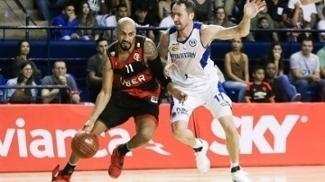 O Flamengo saiu em vantagem na série contra o Pinheiros