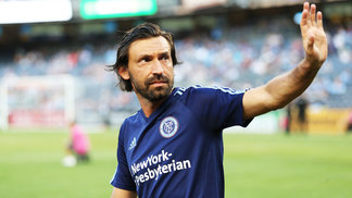 Andrea Pirlo New York City FC Toronto FC MLS 20/07/2017