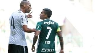 Dudu Palmeiras Kadu Ponte Preta Amistoso 29/01/2017