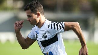 Nilmar, novidade no Santos para o restante da temporada
