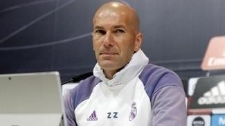 Zinedine Zidane, durante entrevista coletiva neste sábado