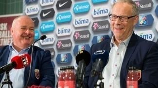 Lars Lagerback foi apresentado como novo técnico da seleção norueguesa