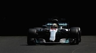 Lewis Hamilton, da Mercedes, em treino para o GP de Mônaco