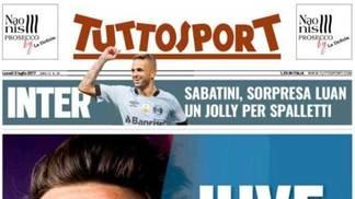Luan, do Grêmio, interessa à Internazionale de Milão, segundo informa o jornal 'Tuttosport'