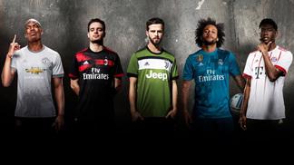 As novas camisas 3 da Adidas, apresentadas na última terça-feira