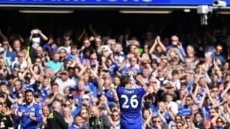 John Terry fez sua última partida no Stamford Bridge como jogador do Chelsea