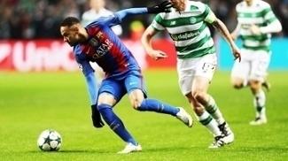 Neymar Barcelona Celtic Champions 23/11/2016