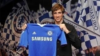 Fernando Torres apresentação Chelsea