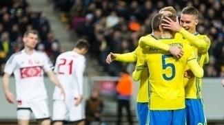 Suécia venceu Belarus nas eliminatórias europeias