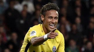 Neymar brilhou em sua primeira partida pelo PSG