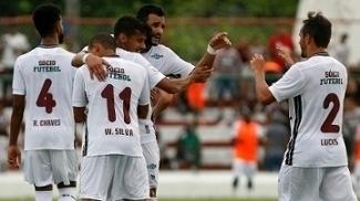 O Fluminense venceu o Resende por 1 a 0 nesta quarta-feira