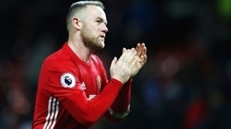 Rooney Manchester United Hull City Premier League 01/02/2017