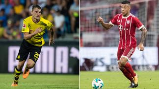 Philipp e Tolisso foram as contratações mais caras de Borussia e Bayern, respectivamente