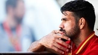 Diego Costa Espanha Colombia Amistoso 07/06/2017