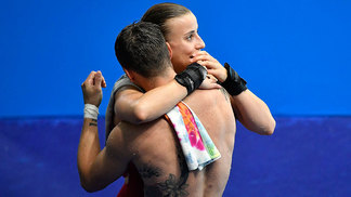 Laura Marino e Matthieu Rosset ficaram com o ouro