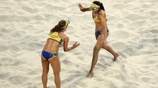 Larissa Talita Vôlei de Praia Getty 11/08/2016