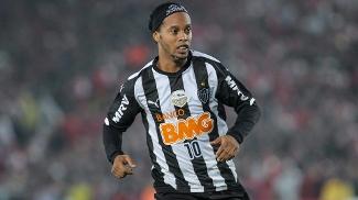 Ronaldinho conquistou a Libertadores com a camisa do Atlético-MG